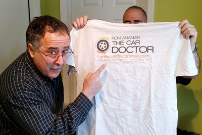 the car doctor show t-shirt