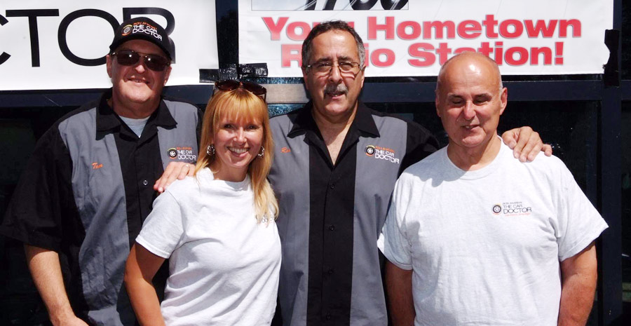 the car doctor show host ron ananian with station affiliates